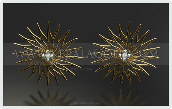 Jewellery Design - Earring - 12