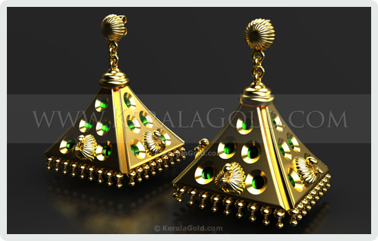 Jewellery Design - Earring - 23