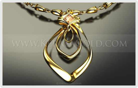 Kerala gold jewellery design pendant 15 jewellery design pendant 15 mozeypictures Image collections
