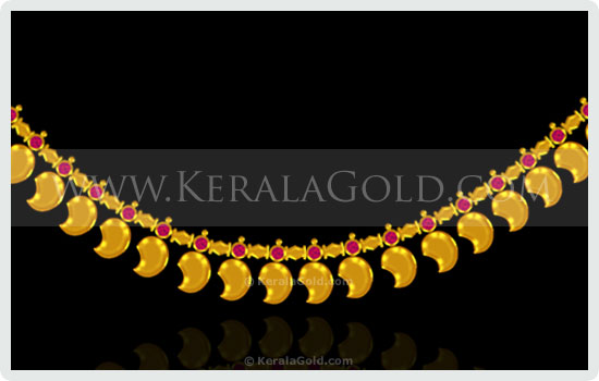 Manga Mala with full gold Mangas