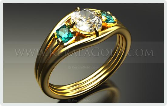 Kerala Gold - Jewellery Design - Ring